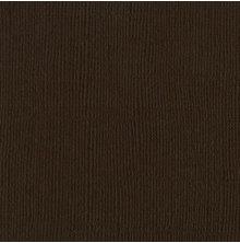 Bazzill Cardstock 12X12, 25/Pkg - Canvas/Brown