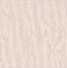 Bazzill Cardstock 12X12, 25/Pkg - Mono Canvas/Vanilla