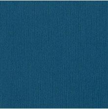 Bazzill Cardstock 12X12, 25/Pkg - Mono/Blue Calypso