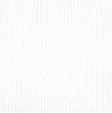 Bazzill Cardstock 12X12, 25/Pkg - Mono White