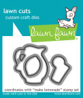 Lawn Fawn Custom Craft Die - Make Lemonade