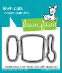 Lawn Fawn Custom Craft Die - Treat Yourself