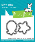 Lawn Fawn Custom Craft Die - So Jelly