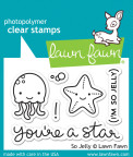 Lawn Fawn Clear Stamps 3X2 - So Jelly