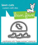 Lawn Fawn Custom Craft Die - Happy Summer