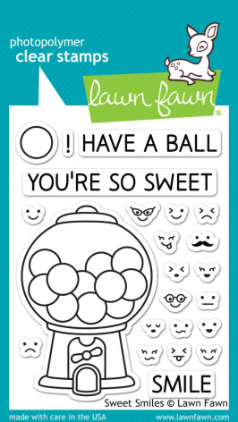Lawn Fawn Clear Stamps 3X4 - Sweet Smiles