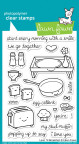 Lawn Fawn Clear Stamps 4X6 - Love 'n Breakfast