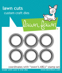 Lawn Fawn Custom Craft Die - Owen's ABC