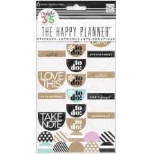 Me & My Big Ideas Create 365 Stickers 6 Sheets/Pkg - Love This Neutral