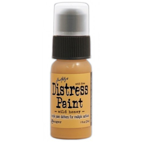 Tim Holtz Distress Paint 29 ml Bottle  - Wild Honey