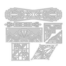 Tonic Studios Art Deco Collectable Die Set 183E