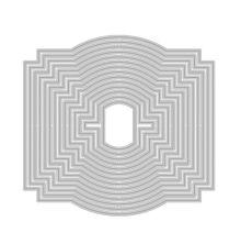Tonic Studios Deco Geometric Layering Die Set - 526E
