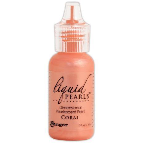 Liquid Pearls Dimensional Pearlescent 18ml - Coral