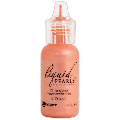 Liquid Pearls Dimensional Pearlescent 18ml - Coral