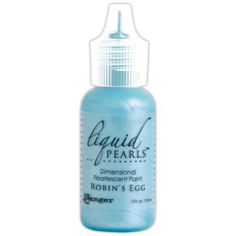 Liquid Pearls Dimensional Pearlescent 18ml - Robins Egg