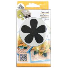 EK Success Large Punch Retro Flower, 2