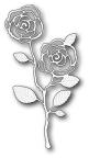 Memory Box Die - English Rose Stem