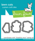 Lawn Fawn Custom Craft Die - Thankful Mice