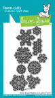 Lawn Fawn Custom Craft Die - Mini Snowflakes