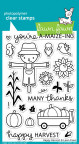 Lawn Fawn Clear Stamps 4X6 - Happy Harvest