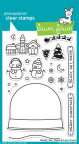 Lawn Fawn Clear Stamps 4X6 - Ready, Set, Snow