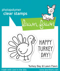 Lawn Fawn Clear Stamps 3X2 - Turkey Day