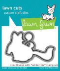 Lawn Fawn Custom Craft Die - Winter Fox