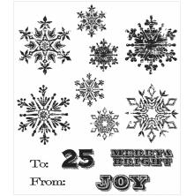 Tim Holtz Cling Stamps 7X8.5 - Mini Weathered Winter