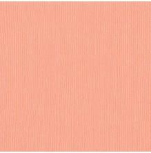 Bazzill Cardstock Mono 12X12, 25/Pkg - Canvas/Coral Cream