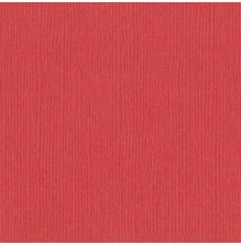 Bazzill Cardstock Mono 12X12, 25/Pkg - Canvas/Flamingo