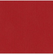 Bazzill Cardstock Mono 12X12, 25/Pkg - Canvas/Watermelon