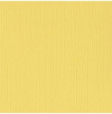 Bazzill Cardstock Mono 12X12, 25/Pkg - Canvas/Lemonade