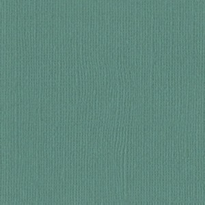Bazzill Cardstock Mono 12X12, 25/Pkg - Canvas/Lagoon