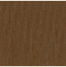 Bazzill Cardstock Mono 12X12, 25/Pkg - Canvas/Walnut