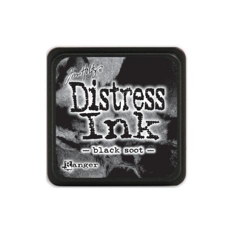 Tim Holtz Distress Mini Ink Pad - Black Soot