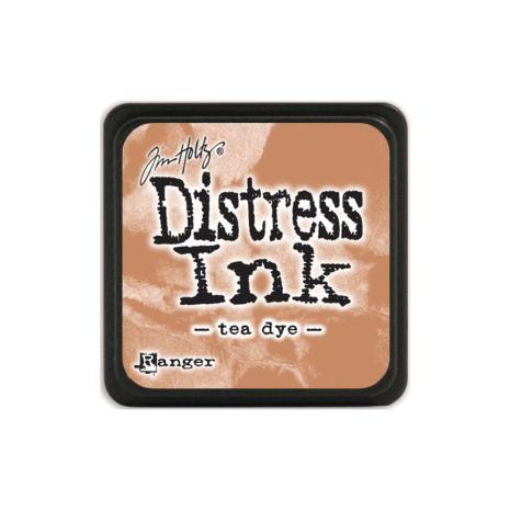 Tim Holtz Distress Mini Ink Pad - Tea Dye