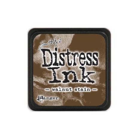 Tim Holtz Distress Mini Ink Pad - Walnut Stain