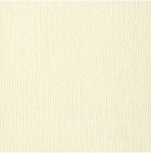 Bazzill Cardstock 12X12, 25/Pkg - FOURZ French Vanilla