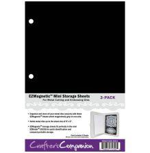Crafters Companion EZMagnetic 2-N-1 Storage Panels - Mini 3/Pkg