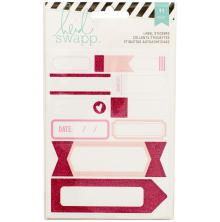 Heidi Swapp Stickers Word Jumbles - Labels/Pink UTGÅENDE