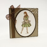 Tonic Studios Exquisite Stamps - It Girl 1131E