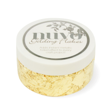 Tonic Studios Nuvo Gilding Flakes 200ml - Radiant Gold 850N