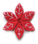 Memory Box Die - Plush Small Poinsettia