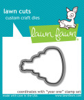 Lawn Fawn Custom Craft Die - Year One