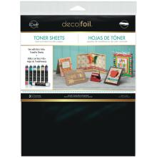 Thermoweb Deco Foil Toner Sheets 8.5X11 3/Pkg