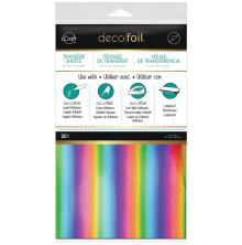Thermoweb Deco Foil 6X12 20/Pkg - Rainbow