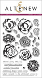 Altenew Layering Clear Stamps 4X6 29/Pkg - Scribbled Flowers