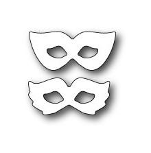 Poppystamps Die - Masquerade Masks