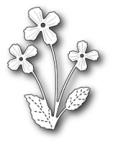 Memory Box Poppystamp Die - Darling Viola
