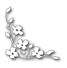 Poppystamps Die - Dogwood Blossom Corner